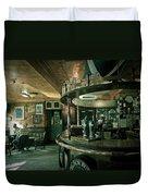 Biddy Mulligans Pub. Edinburgh. Scotland Duvet Cover by Jenny Rainbow