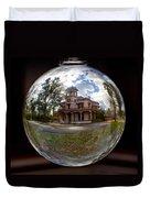 Bidwell Mansion Through A Glass Eye Duvet Cover