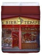 Bier Tempel Duvet Cover