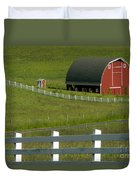 Big Barn Little Companion  Duvet Cover