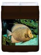 Big Beautiful Fish Duvet Cover