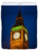 Big Ben At Night Duvet Cover