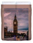 Big Ben London Duvet Cover