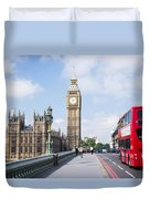Big Ben Duvet Cover by Trevor Wintle