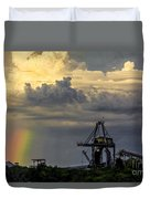 Big Bend Rainbow Duvet Cover by Marvin Spates