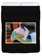 Big Blocks Patchwork Quilt Duvet Cover