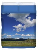 Big Blue Sky  Duvet Cover