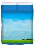 Big Blue Texas Sky Duvet Cover