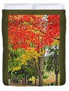 Big Colorful Sleep Duvet Cover