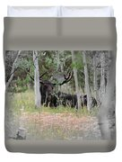 Big Daddy The Moose 1 Duvet Cover