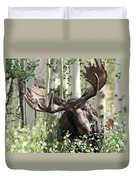 Big Daddy The Moose 3 Duvet Cover