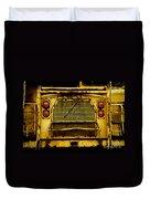 Big Dump Truck Grille Duvet Cover