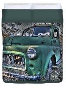Big Green Duvet Cover