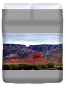 Big Horn Mountains Duvet Cover