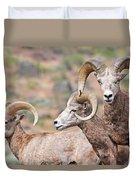 Big Horns Duvet Cover