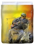 Big Jerry In Memphis Duvet Cover