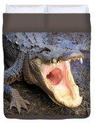 Big Mouth Duvet Cover