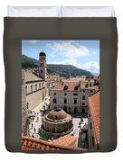Big Onofrio's Fountain Duvet Cover