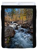 Big Pine Creek Duvet Cover by Cat Connor
