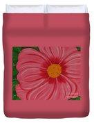 Big Pink Flower - Florist - Gardener Duvet Cover