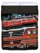 Big Red Dog Duvet Cover