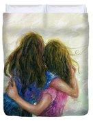 Big Sister Hug Duvet Cover