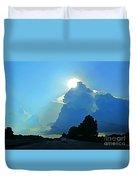 Big Sky Blue Duvet Cover