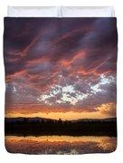 Big Sky Sunrise Duvet Cover