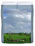 Big Suffolk Sky Duvet Cover