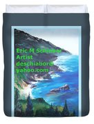 Big Sur Califorina Duvet Cover