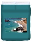 Big Sur Coast Duvet Cover