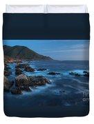 Big Sur Coastline Duvet Cover by Mike Reid