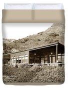 Big Sur Hot Springs Now The Esalen Institute California Circa 1961 Duvet Cover