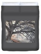 Big Sur Oak Duvet Cover