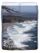 Big Sur Surf Duvet Cover
