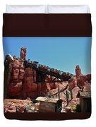 Big Thunder Mountain Walt Disney World Duvet Cover