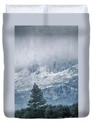 Big Tree At The Mountains Duvet Cover