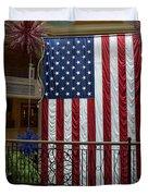 Big Usa Flag 1 Duvet Cover