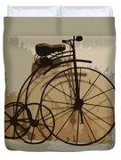 Big Wheel Trike Duvet Cover