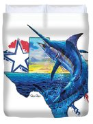Bigger In Texas Duvet Cover