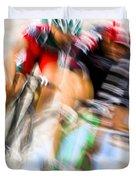 Bike Race I Duvet Cover
