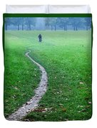 Bike Ride Duvet Cover