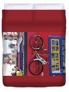Bike Shop Duvet Cover