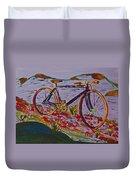 Bike Study Duvet Cover