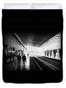 Bilbao Train Station Duvet Cover