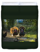 Bill And George Duvet Cover