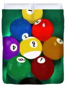 Billiards Art - Your Break 1 Duvet Cover