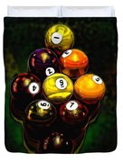 Billiards Art - Your Break 6 Duvet Cover