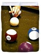 Billiards Art - Your Break -art 8 Duvet Cover