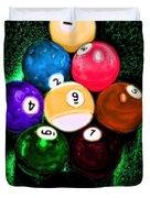Billiards Art - Your Break Duvet Cover